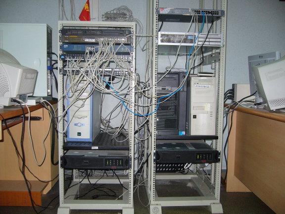 Логическая схема сети ФКН